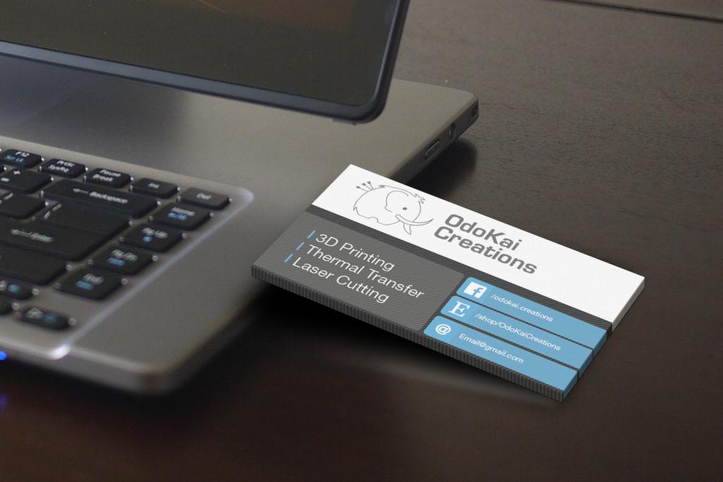 OdoKai Creations Business Card 1