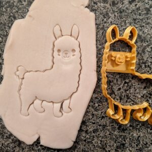 Cute Llama Cookie Cutter
