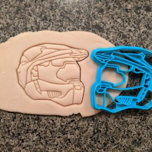 Master Chief Helmet Halo Cookie Cutter