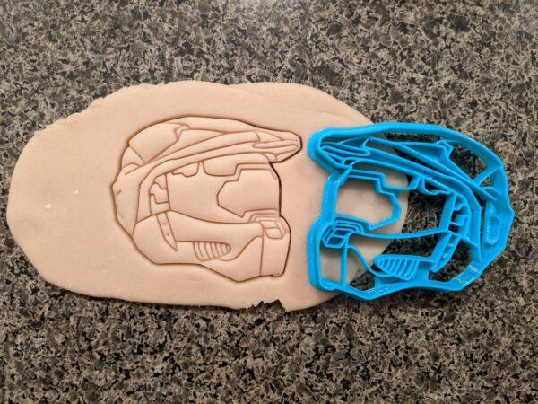 Master Chief Helmet Halo Cookie Cutter