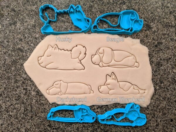 Sleeping dogs Cookie Cutter